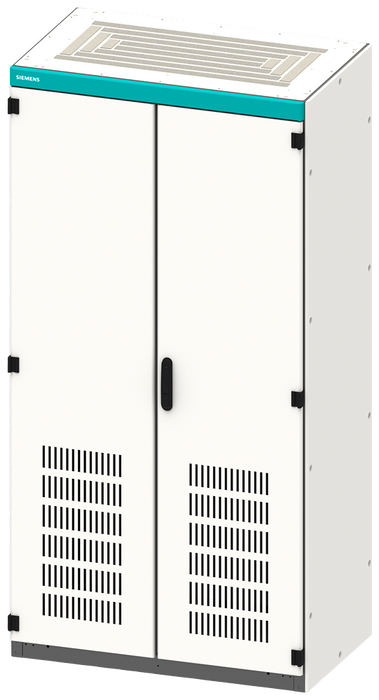 Empty control cabinet enclosure, with ventilation openings, IP20, H: 2200 mm, W: 1000 ... motor - 8MF1200-3VS4