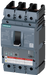 Circuit breaker 3VA6 UL Frame 150 Switching capacity class H 65 kA @ 480 V 3-pole, system protection ETU320, LI, In=150 A Overload protection Ir=60 A. motor - 3VA6115-6HL31-0BB0