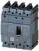 circuit breaker 3VA5 UL frame 125 breaking capacity class M 35kA @ 480 V 4-pole, line protection TM230, FTAM, In=125A overload protection Ir=125A fixe motor - 3VA5112-5GC41-0AA0