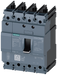 circuit breaker 3VA5 UL frame 125 breaking capacity class M 35kA @ 480 V 4-pole, line protection TM210, FTFM, In=60A overload protection Ir=60A fixed motor - 3VA5160-5ED41-0AA0