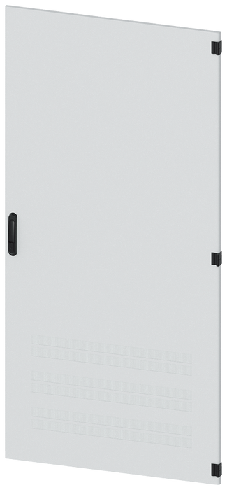 Door, right, with ventilation openings, IP40, H: 2000 mm, W: 900 mm, RAL 7035, ... motor - 8MF1090-2UT14-2BA2