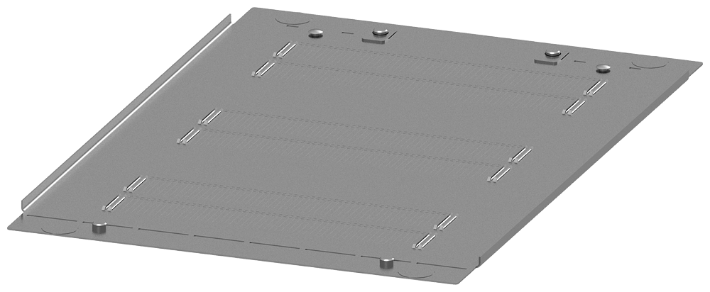 SIVACON S4 Top plate Degree of protection IP4X Closed Width 400 mm Depth 600 mm motor - 8PQ2304-6BA02