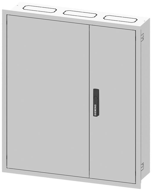 ALPHA 160, wall-mounted cabinet, flush-mounted, IP31, degree of protection 2, H: 950 mm, W: 550 ... motor - 8GK1031-4KK21