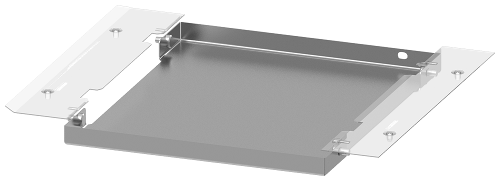 SIVACON S4 Base plate HSS bottom Degree of protection up to IP20 Closed Width 350 mm Depth 400 mm motor - 8PQ2300-4BA23