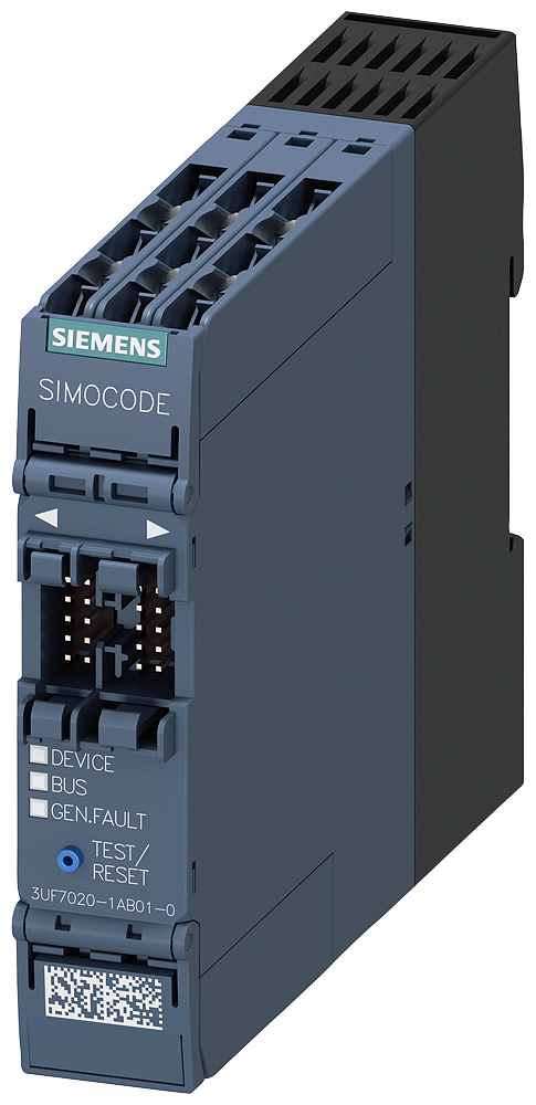 Basic unit SIMOCODE pro S, PROFIBUS DP interface motor - 3UF7020-1AB01-0