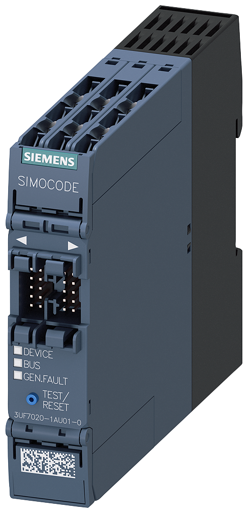 Basic unit SIMOCODE pro S, PROFIBUS DP interface motor - 3UF7020-1AU01-0
