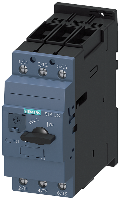 Circuit breaker size S2 for transformer protection A-release 28...36 A N-release 820 A screw terminal Standard switching capacity motor - 3RV2431-4PA10