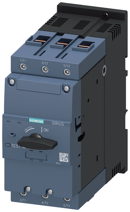 Circuit breaker size S3 for starter combination Rated current 84 A N-release 1170 A screw terminal Increased switching capacity 100 kA motor - 3RV2342-4RC10