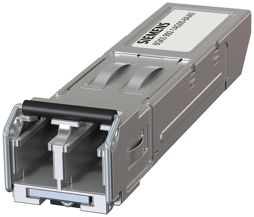 SCALANCE X accessory  Plug-in transceiver SFP992-1+  1x 1000 Mbit/s LC port, optical  multimode optical up to max. 2000 m motor - 6GK5992-1AG00-8AA0