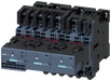 Contactor assembly for star-delta (wye-delta) start with IO-Link AC3, 11 kW/400 V 24 V DC, 3-pole S0 motor - 3RA2423-8XE32-2BB4