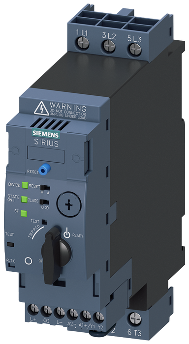 SIRIUS compact load feeder direct on-line starter for IO-Link, 400 V, 24 V DC, 8-32 A motor - 3RA6400-1EB42