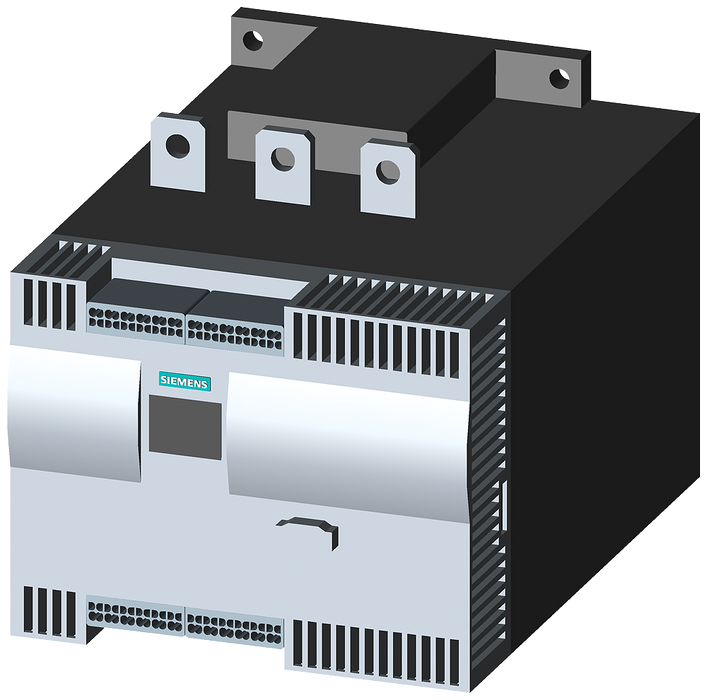 SIRIUS soft starter Values at 500 V, 40 °C Standard: 432 A, 315 kW Inside-delta: 748 A, 500 kW 400-600 V AC, 230 V AC spring-type terminals motor - 3RW4447-2BC45