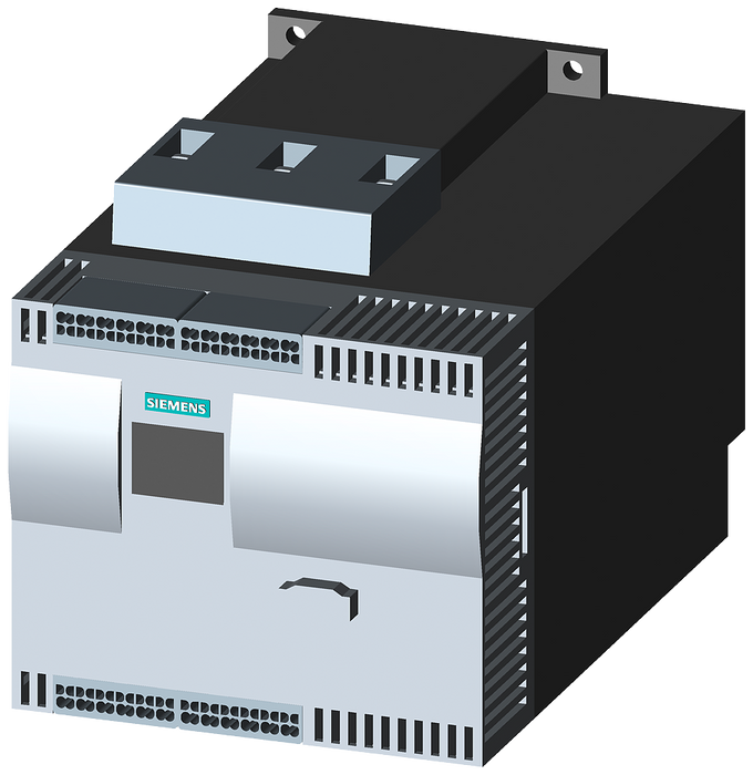 SIRIUS soft starter Values at 500 V, 40 °C Standard: 57 A, 37 kW Inside-delta: 99 A, 55 kW 400-600 V AC, 230 V AC spring-type terminals motor - 3RW4425-3BC45