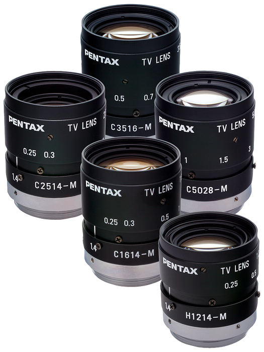 Mini-lens 8.5 mm, 1: 1.5 PENTAX C815B (TH) with fixed Focal distance, aperture and focus Adjustable D=42 mm, L=47 mm  Cannot be used with internal rin motor - 6GF9001-1BE01