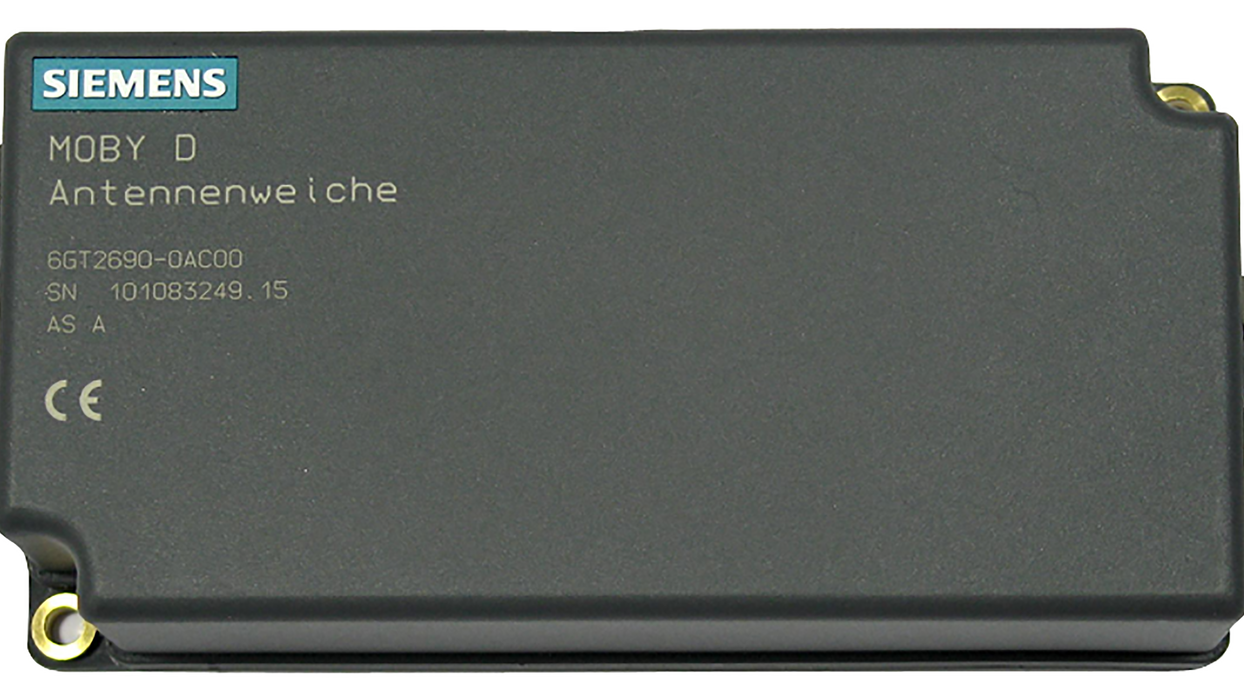MOBY D antenna switch for connecting 2 ANT D5 or ANT D6- 6GT2690-0AC00