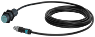 RF300/MOBY E antenna ANT 18 PVC, cable length 3 m IP65, -25 °C - +70 °C motor - 6GT2398-1CA00