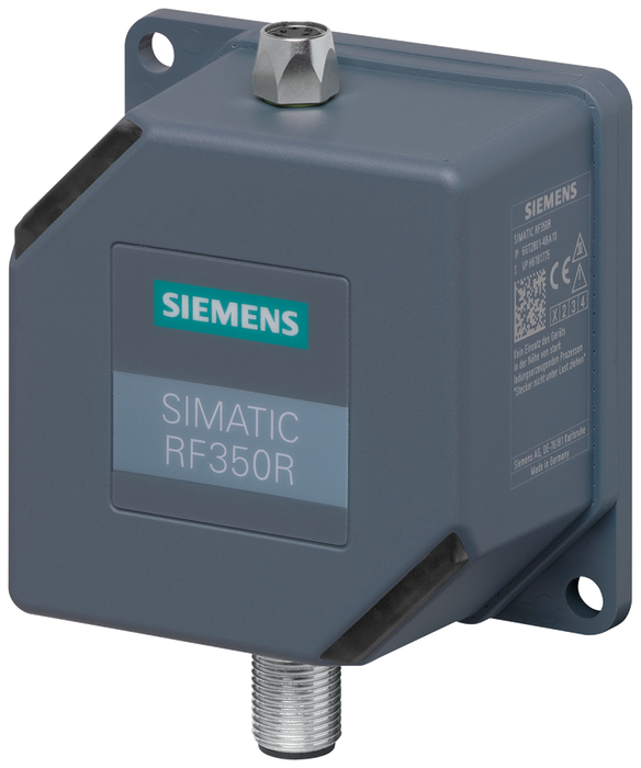 SIMATIC RF300  Reader RF350R (GEN2)  RS422 interface (3964R)  Without antenna IP65, -25 to +70 °C, 75x 75x 41 mm, can be operated with: ANT 1, 3, 3 NO motor - 6GT2801-4BA10-0AX2