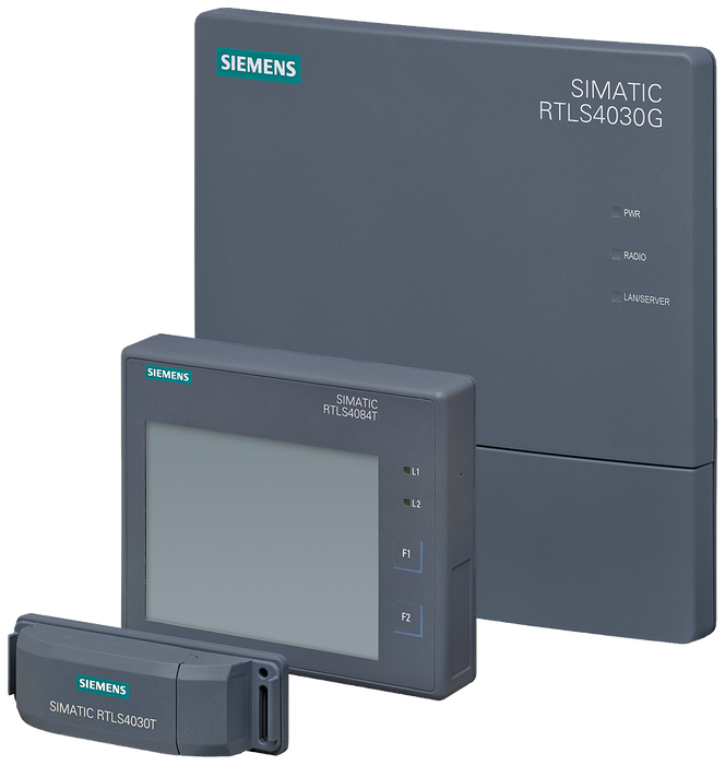 SIMATIC RTLS Locating Manager Initial position detection 10,000 for 10,000 transponders, option for license Basic, Single License, software and licens motor - 6GT2780-0DC30