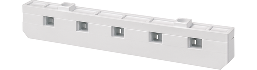 ALPHA DIN Busbar holder, 5-pole, Center-line spacing 40 mm for mounting on stay, CU busbar 12x 5 (10), w. support plate, for mounting SLT switch 3NP, motor - 8GK9651-0KK00
