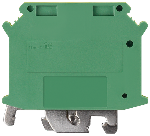 Protective conductor Installation terminal with screw terminal, Cross-section: 35 mm2, Width: 12mm, Color: green-yellow motor - 8WH1001-0CM07