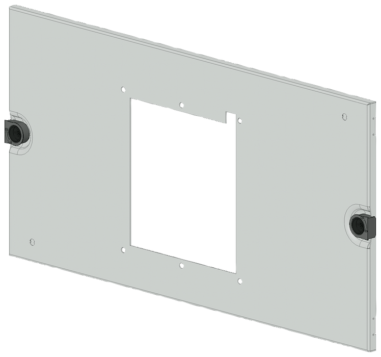 SIVACON S4 Masking frame SENTRON 3VL Switch 3VL5 up to 630 A 3-pole Mounting position horizontal Insert Drive universal Number of switches 1 Height 30 motor - 8PQ2030-6BA17
