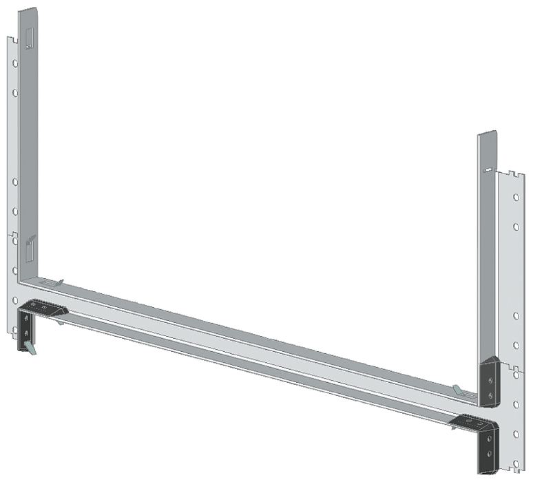 SIVACON S4 compartment door Upgrade IP55 Height 750 mm Width 400 mm motor - 8PQ2075-4BA01