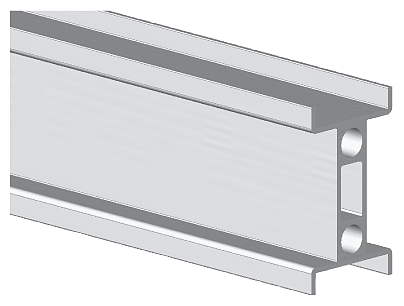 SIVACON S4 AL-double DIN rail DIN rail 35 mm Length 1600 mm motor - 8PQ9600-0BA01