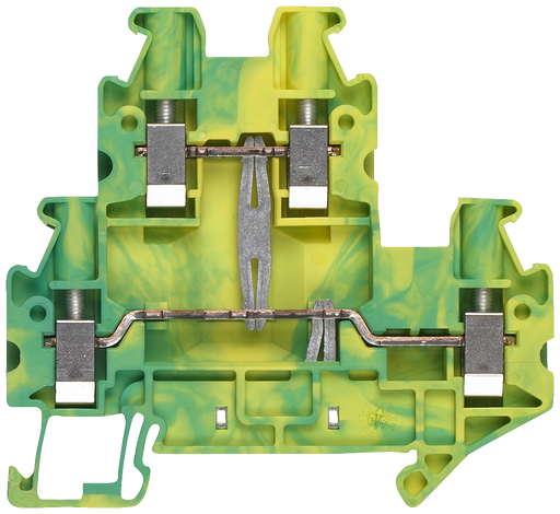 PE two-tier terminal with screw terminal Terminal size 4.0 mm2 Terminal width 6.2 mm Color green-yellow motor - 8WH1020-0CG07