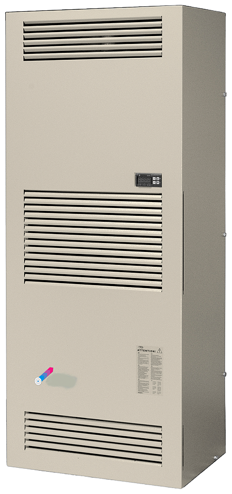 Cooling unit Door or panel setup Cooling capacity 3850 W 400V AC RAL7035 500x 1270x 336 mm (BxHxD) Internal circuit IP54 External circuit IP34 motor - 8MR6440-5EG40