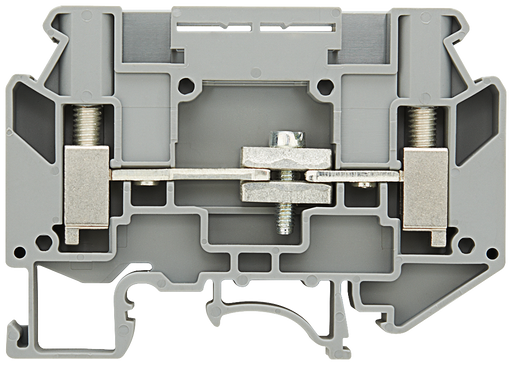 Instrument isolating terminal, 6 mm2 gray screw mounting 2 connections isolating terminal 6 mm2 motor - 8WH1000-7AH00