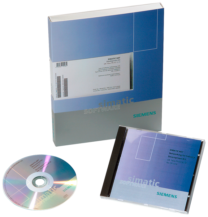 Industrial Ethernet SOFTNET-S7 upgrade from version 2006 software for S7 motor - 6GK1704-1CW00-3AE0