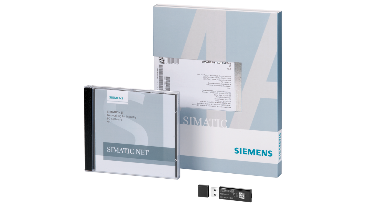 SIMATIC NET, Industrial Ethernet SNMP OPC Server Extended V12- 6GK1706-1NX12-0AA0