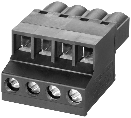 4-pole terminal block for power supply (24 V DC)  for SCALANCE X/W/S/M  1 pack=5 units spare part motor - 6GK5980-1DB00-0AA5