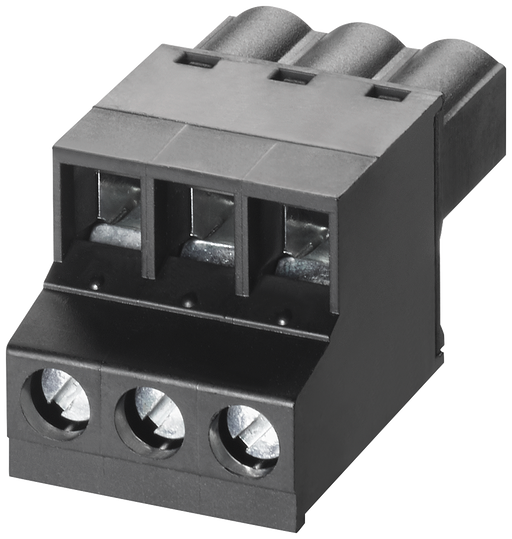 3-pole screw-type terminal block for power supply  24 V AC/DC for SCALANCE XB-000  1 pack=5 units  spare part, motor - 6GK5980-1CB00-0BA5