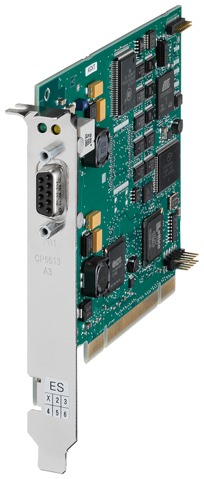 CP 5613 A3 communications processor, PCI card (32 bit, 3.3/5V, 33/66MHz) motor - 6GK1561-3AA02