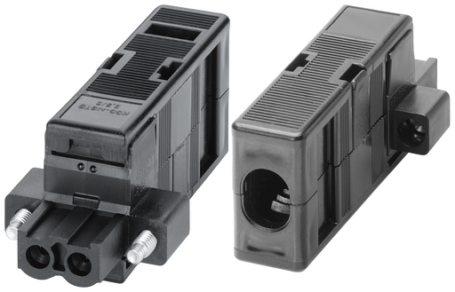 2-pole terminal block for power supply (230 V AC) incl. enclosure  for SCALANCE XR-300 1 pack=5 units  spare part motor - 6GK5980-1BC00-0AA5