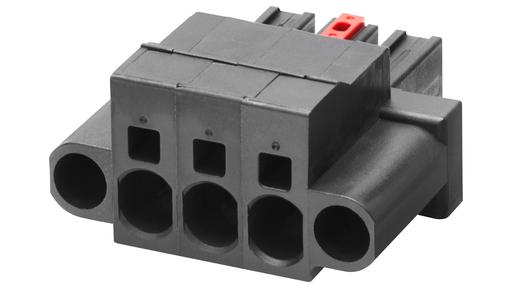 3-pole terminal block for Signaling contact (230 V AC)  for SCALANCE XR-300EEC/X-300EE 1 pack=6 units  spare part motor - 6GK5980-0CC00-0AA6