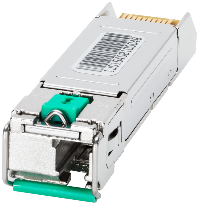 SFP992-1BXMR Plug-in transc., 1x 1000 Mbit/s LC port, MM glass, up to max. 500 m motor - 6GK5992-1AL00-8RA0