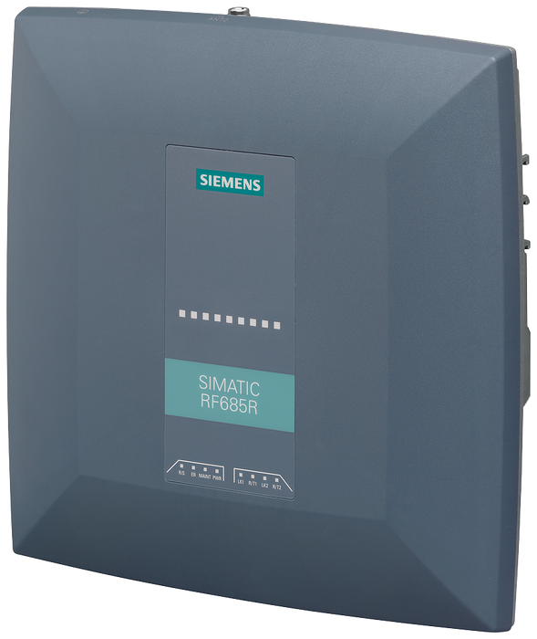 SIMATIC RF600 Reader RF685R ARIB  Interfaces: Ethernet M12 PROFINET M12 1 integrated antenna+1 ext. antenna port, 4 dig. inputs/ 4 dig. outputs, 24V D motor - 6GT2811-6CA10-4AA0