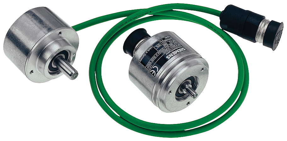INCREM. ENCODER 6FX2001-4DA50 WITH HTL, 500 P/R, OPERATING VOLTAGE 10-30 V, SYNCHRON. FLANGE SHAFT 6MM UNIVERSAL CABLE OUTGOING AXIAL/RADIAL CABLE 1M motor - 6FX2001-4DA50