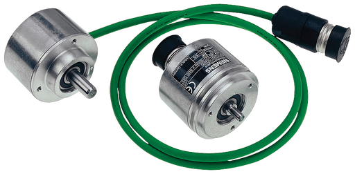 INCREM. ENCODER 6FX2001-2CB02 WITH RS 422 (TTL), 1024 P/R, SYNCHRO-FLANGE SHAFT 6MM OPERATING VOLTAGE: 5 V UNIVERSAL CABLE OUTLET AXIAL / RADIAL CABLE motor - 6FX2001-2CB02