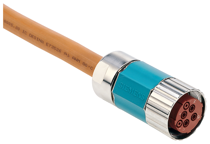 Power cable sold by the meter type: 6FX7008-1BC21 4x 2.5+4x 0.5 C for linear motor - 6FX7008-1BC21-1FA0