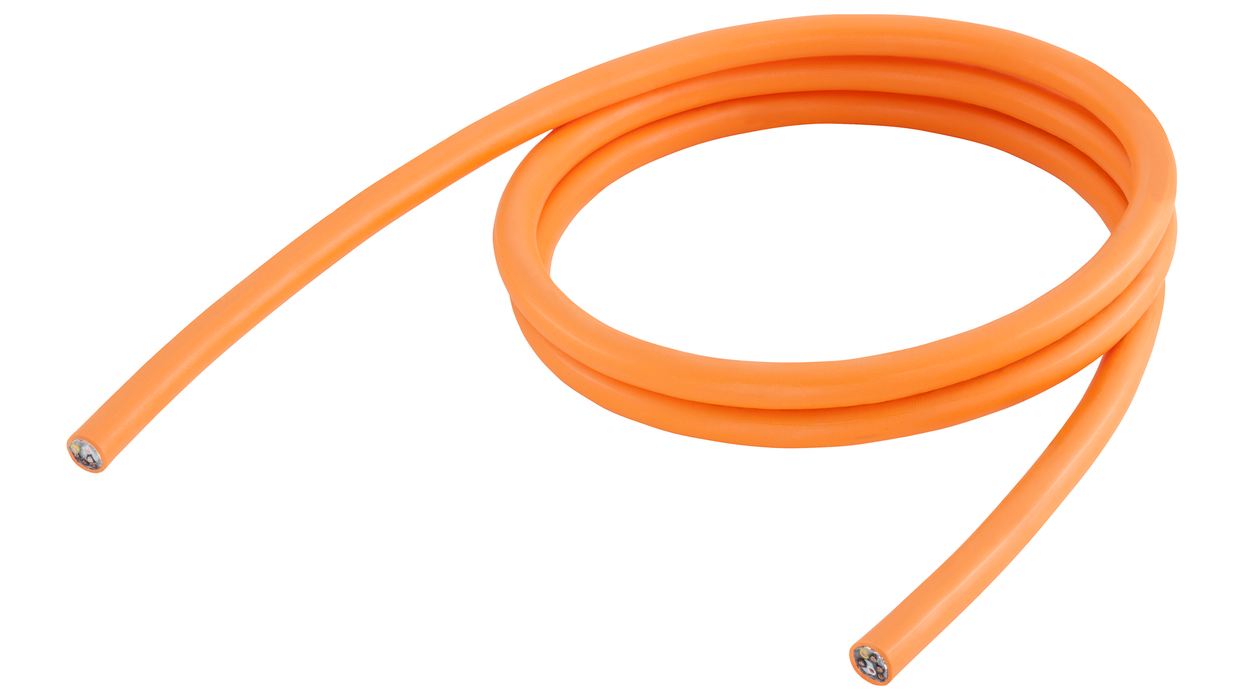 Power cable sold by the meter type: 6FX5008-1BB21 4x 2.5 C UL/CSA, DESINA MOTION-CONNECT 500 Type of delivery: Ring Dmax=10 mm, Length (m)=100 motor - 6FX5008-1BB21-2AA0