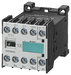 Contactor S00 3-pole AC-3 4 kW/400 V, auxiliary switch 22E (2 NO + 2 NC) width 45 mm motor - 3TF2222-0AP0