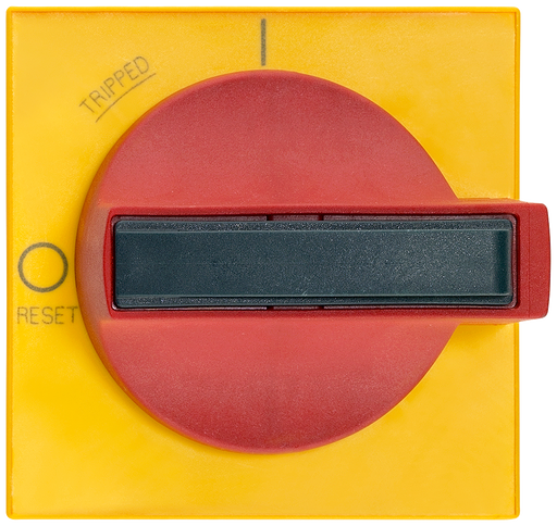 Red handle masking frame yellow Door operating mechanism 8UC7 Spare part for 8UC7222-3BB20 Size 2 motor - 8UC7220-3BB