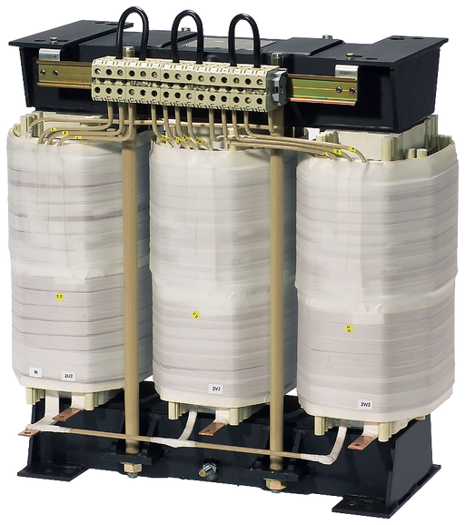 POWER TRANSFORMER  PHASES:3  PN(KVA):18  UPRI(V):440+/-5%  USEC(V):400  ISEC(A):26  UK(%):2,51  F(HZ):50...60  VECTOR GR./SHIELD WNG.:DYN5 /0  TA/ISOK motor - 4BU4332-5CA23-2DA0