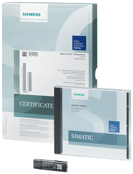 SIMATIC STEP 7 Prof. V16; Floating License;  Engineering Software in TIA Portal; SW and docu. on DVD;  License key on USB flash drive; Class A - 6ES7822-1AA06-0YA5