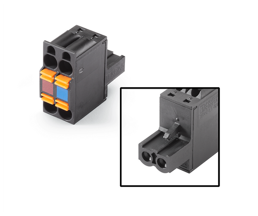 2x2-pin female connector 2x2-pin female connector ET200S, Interface Module, KP32F, PN-PN coupler Grid size 5.08 mm cage clamp technology, internally b motor - 6ES7193-4JB00-0AA0
