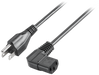 IEC cable, USA, 230V AC, angled, for IPC and power supplies Further information, Quantity and content: see technical data motor - 6ES7900-1DA00-0XA0