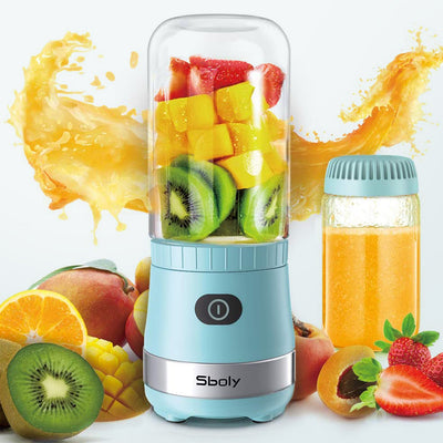 BM01T Blue Portable Mini Blender